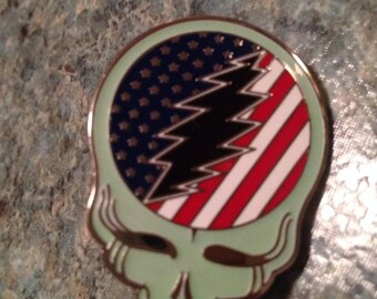 Grateful Dead Steal Your Freedom Heady Hat Pin