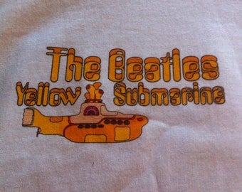 Vintage Beatles Yellow Submarine Shirt