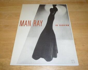 MAN RAY In Fashion CATALOGUE Bazaar Years 1990 Retrospective