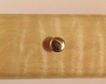 Hand Crafted Curly Maple Keepsake Box