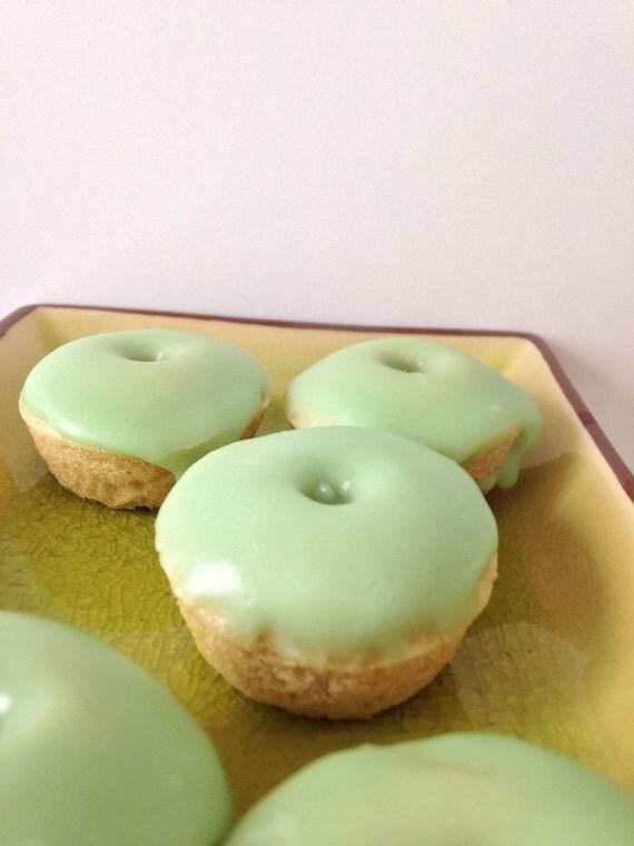 Green tea Sake mini donuts