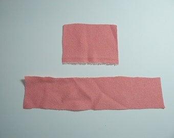Shabby Chic Soft Pink Fabrics Craft, Baroque Textile Fabrics Design, Handmade Textile Supplies