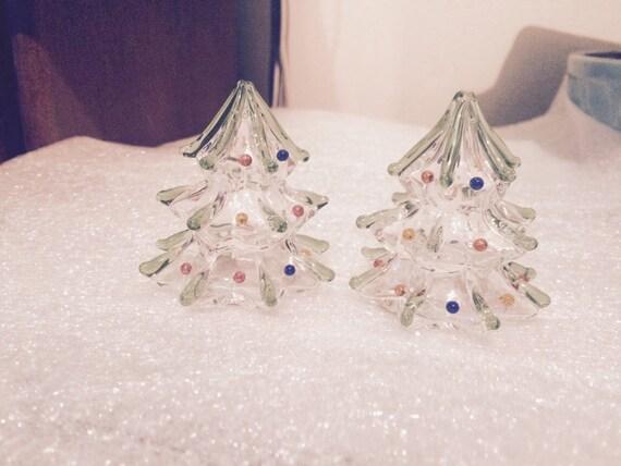 Lenox Christmas Tree Salt and Pepper Shakers