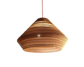 Pendant Light. Saucer Open by: Pappell. Free Shipping