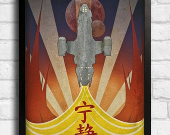 Firefly (Serenity) Art Deco Style Art