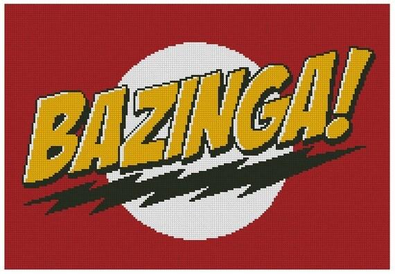 схема вышивки Базинга! PDF