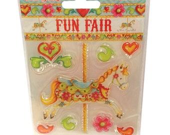 Fun Fair Helz Cuppleditch Collection - Carousel Stamp