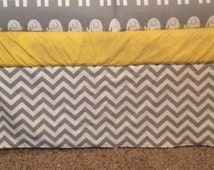 Custom Crib Skirt, Straight, Box pleat or Gathered - You Choose the Fabric from My Shop