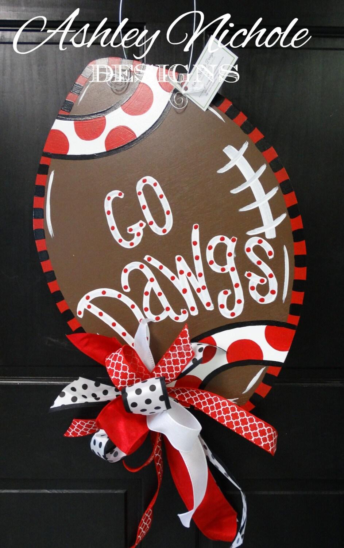 Fall Door Hangers Football