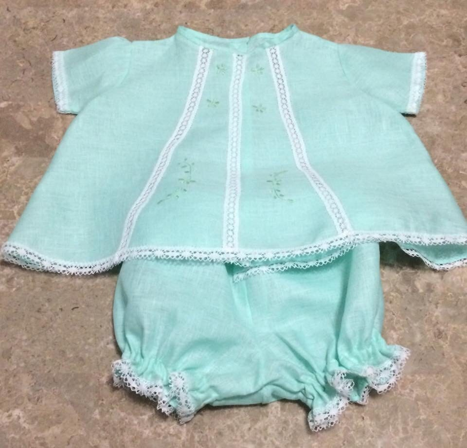 Handmade Baby Clothes Embroidered Very Delicate