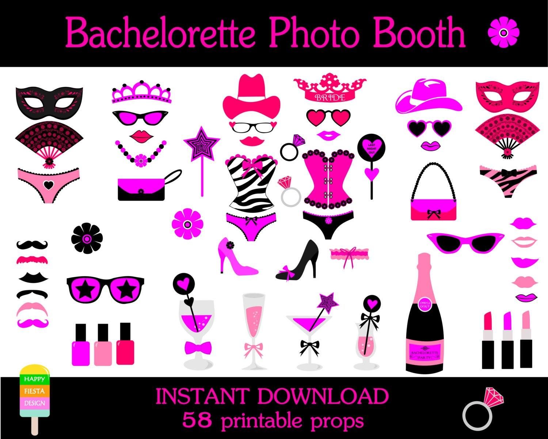 Bachelorette Party Photo Props Props–bachelorette Party