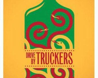Drive By Truckers Boulder 2012 Concert Poster Dan Stiles silkscreen original