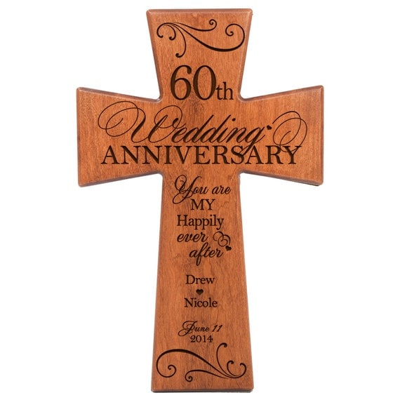 Personalized 60th wedding anniversary 60th anniversary gift ,60th ...