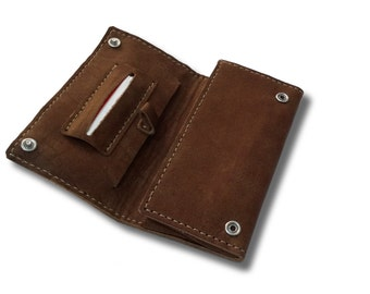 Pipe Tobacco Pouch / Leather Tobacco Pouch