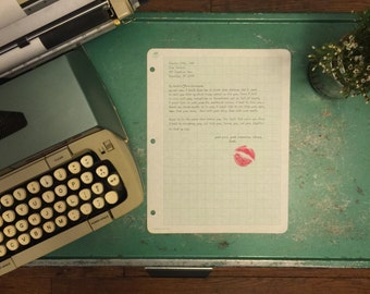 Personalized Love Letter (Mailed Directly to Your Lover)