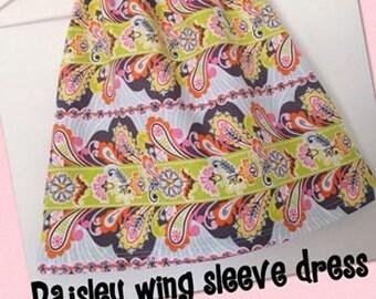 Handmade Wing Sleeve Dress Size 6mths