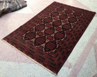 Kawdani Baluchi rug nomadic rug tribal rug area rug