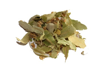 Dried Organic Linden flower 1 oz (30 g) (Small-leaved Lime), (Tilia cordata)