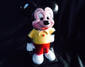 Vintage Walt Disney Productions Mickey Mouse bank