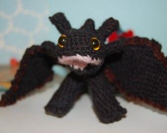 Inspired by KroKMou Dragon amigurumi crochet. Great gift!