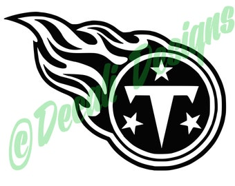 Tennessee Titans Decal/Titans Decal/NFL/Football Titans Decal