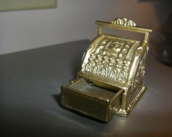 Vintage miniature cash register 1 12 scale