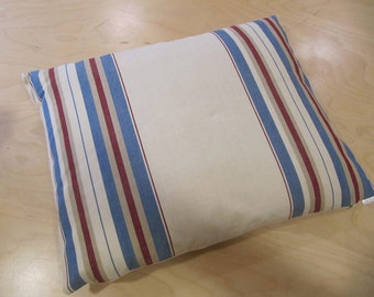 Sailing Stripes feather cushion