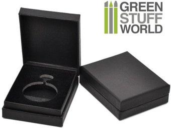 Pocket Watch Black Velvet Gift Boxes Cases - Size: 9.5x7.5x3cm