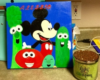 Alessio-Mickey Mouse and Veggie Tales
