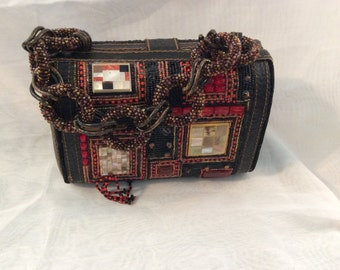 Vintage Mary Frances Purse