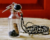 """I am a lighthouse. The storm may rage but it will never douse my light. - 2"""" mantra-in-a-bottle"""