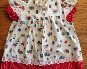 Vintage Baby Girl Dress, for 12 Month Old, by Saks Fifth Ave