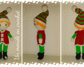 Tutorial in french for doll Elf Christmas