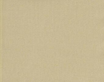 Khaki Broadcloth Fabric, quilting fabric, Fabric by the Yard,  khaki tan fabric