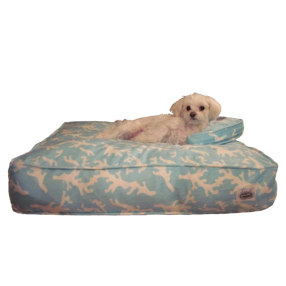 covered dog bed designer bed cover with matching pillow sham 28760