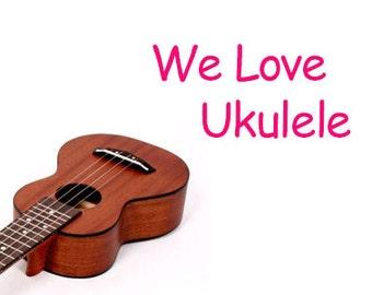Custom made soprano ukulele case for harumo01