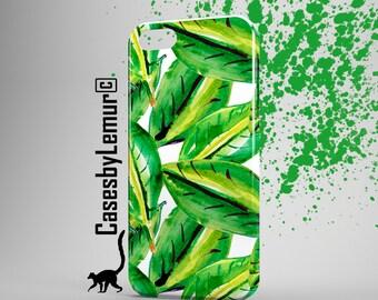 BANANA LEAVES Iphone 6 case Banana Print Iphone 5 Case Tropical Print Iphone 6 Plus Case Tropical Phone Case Fruit Print Iphone 5C Case 5S