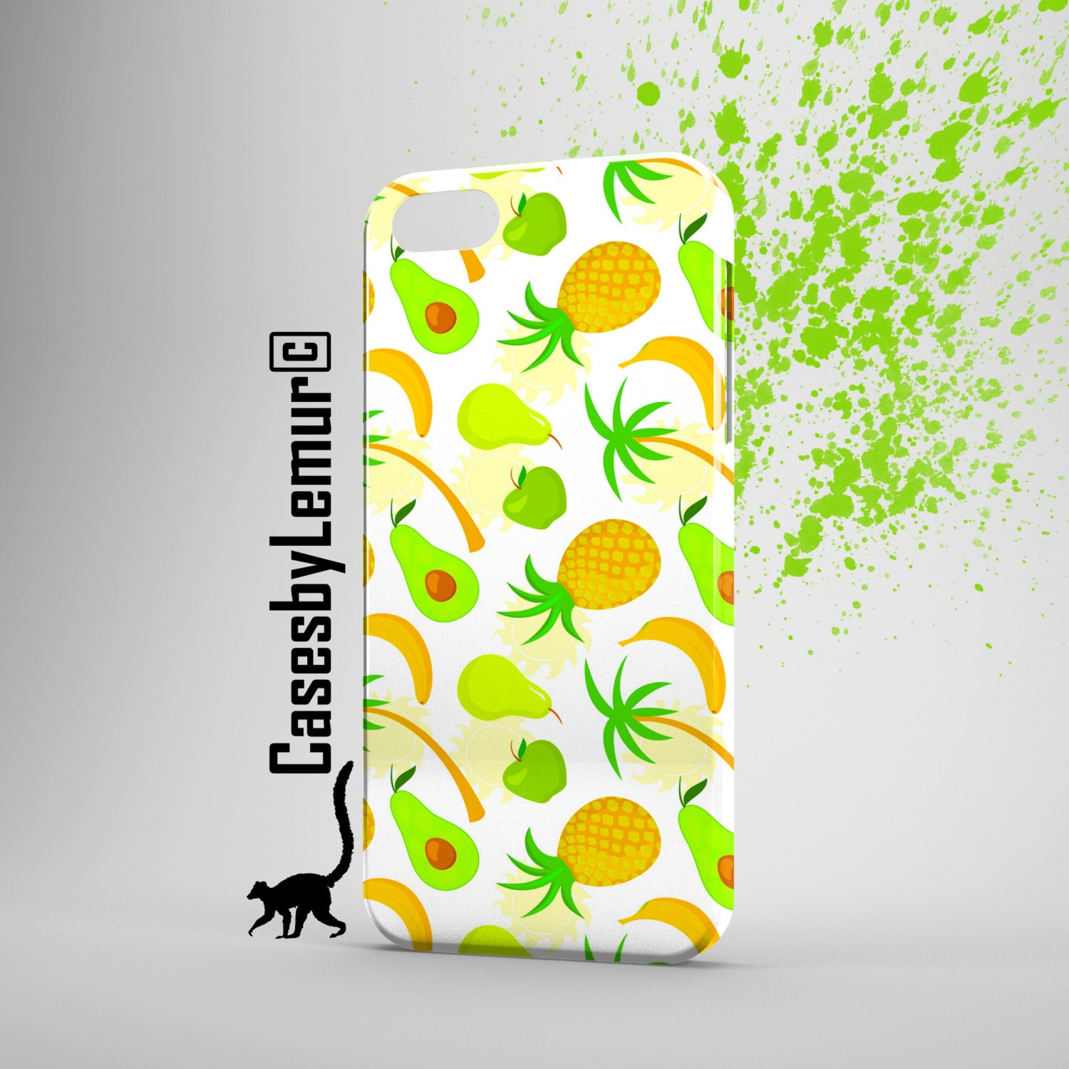 Fruits Pattern Iphone case Iphone 6 case Iphone 5s by LemurCases