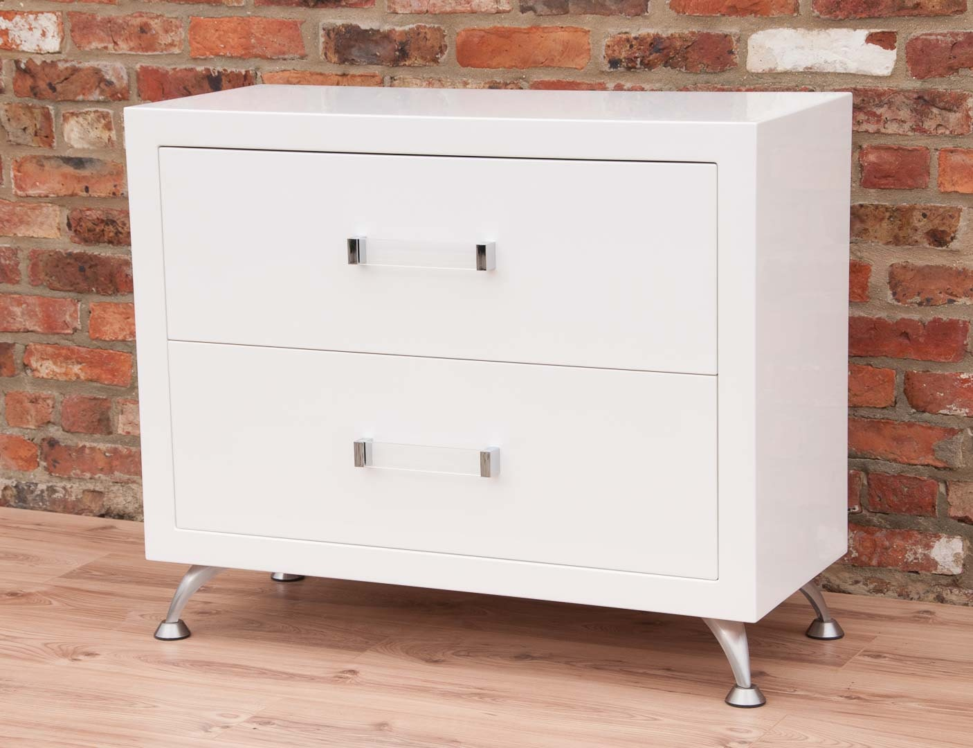 chest of drawers mirror gloss white new addition to our