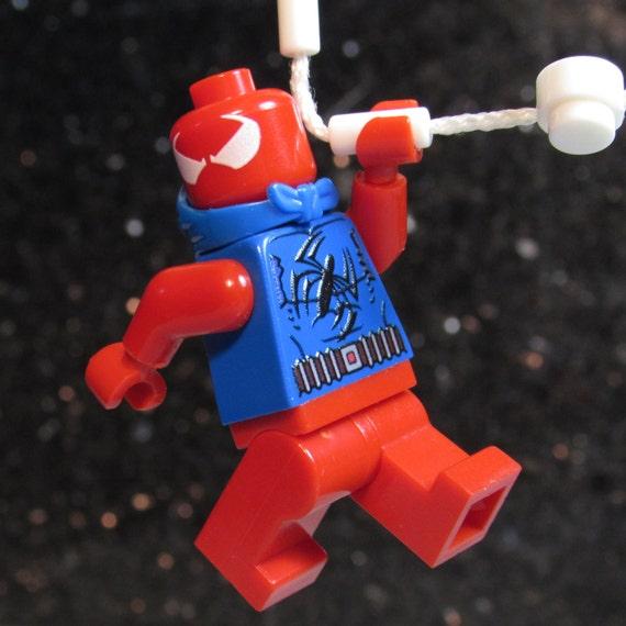 NEW Custom SCARLET SPIDER Lego size Spider Man Clone Ben