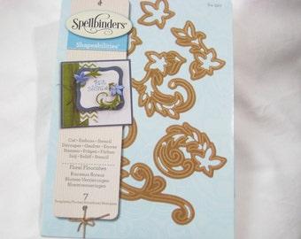 Spellbinders Shapeabilities, Floral Flourishes