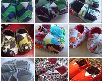 Baby Tom's-Inspired Shoes in Tula Prints