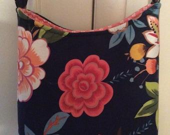 Colorful Floral Handbag