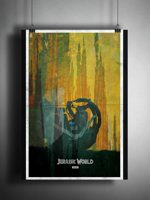 Jurassic World 11x17 Poster by LukeDonaldsonDesign on Etsy