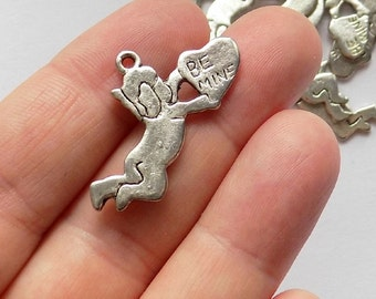 10 Be Mine Valentine Charms - Pendant - #S0016