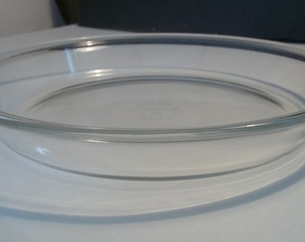 Vintage Pyrex 9 inch pie plate, Collectible Vintage, Collectible Glass, Vintage Bakeware, Cookware, Glass Pie Plate