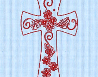 Holy Cross (3) embroidery pattern. Downloadable