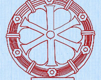 Holy Cross (8) Embroidery pattern (downloadable)