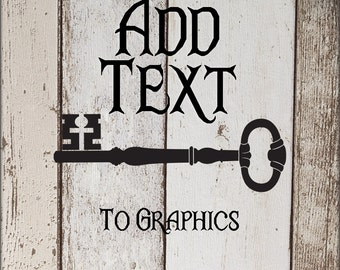 Add Text to graphics