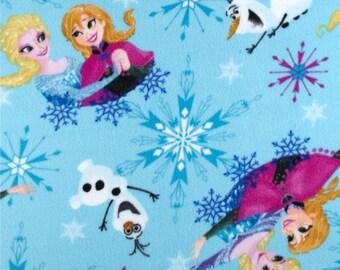 Disney Frozen Elsa Anna Olaf Fleece